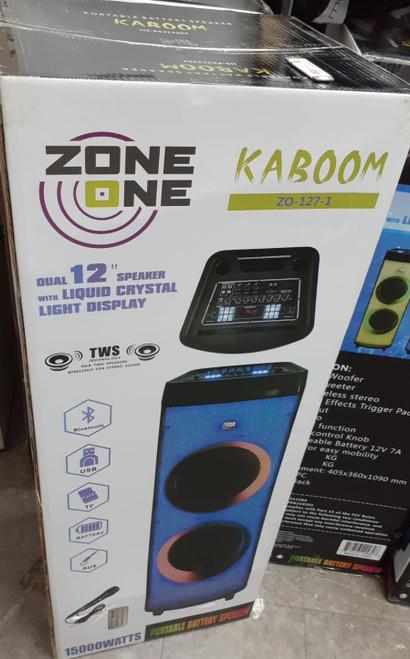 Zone One Kaboom 12inch