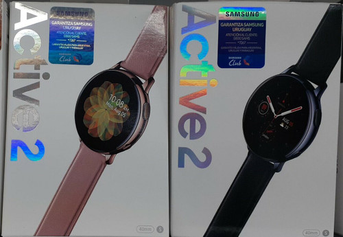 Samsung Watch Active 2 40mm - Rose Gold Stainless Steel