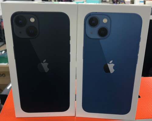 iPhone 13 128GB Brand New Available in Different colors.
