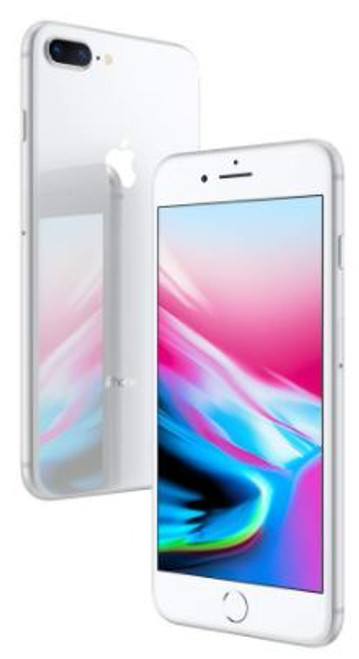 Iphone 8 Plus 64GB (Unlocked) with Box and Charger (A+ Stock) Silver
