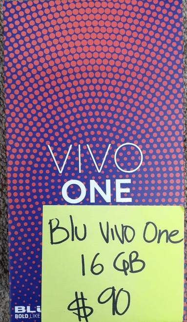 Blu Vivo one 16GB, 4G LTE (New)Sealed Box, Unlocked (Black)