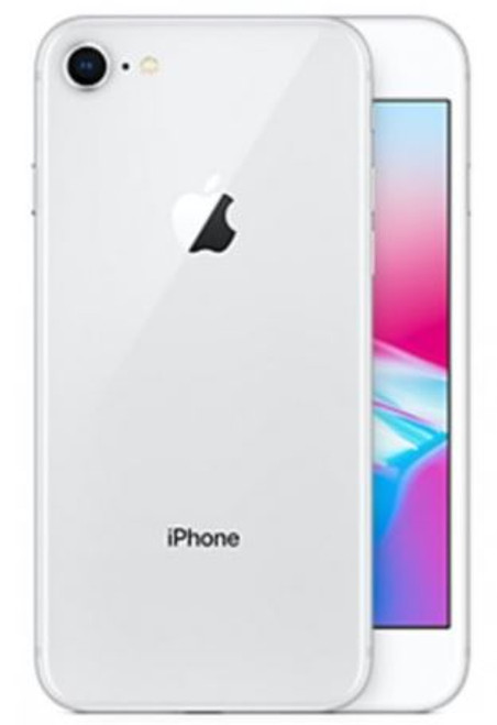Iphone 8 64GB (B Grade)Unlocked (Silver) Handset Only