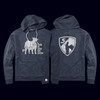 This Is Why We Show Hoodie - Navy Cattle