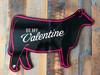 Heifer - Valentine Cutout