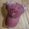 Maroon Shield Cap