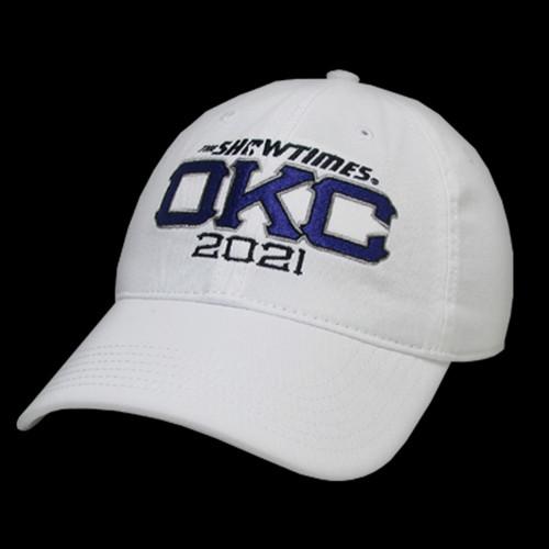 OKC Cap - White
