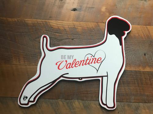 Goat - Valentine Cutout