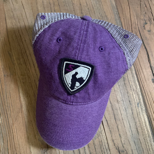 Purple Shield Cap