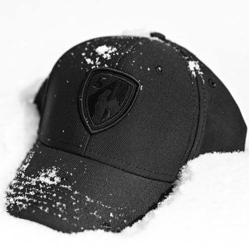 Black/Black Shield Sport Cap