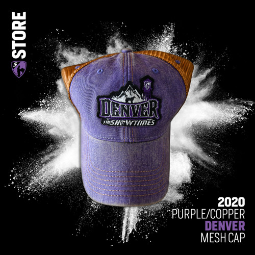 2020 Denver Cap - Purple Copper Mesh