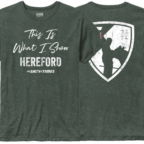 This Is What I Show: Hereford - T-Shirt