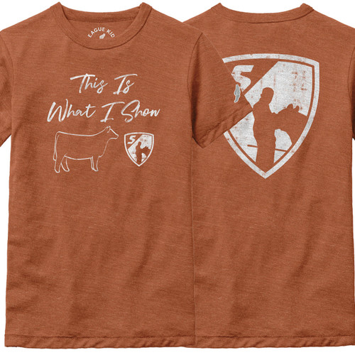 YOUTH - This Is What I Show: Heifer T-Shirt