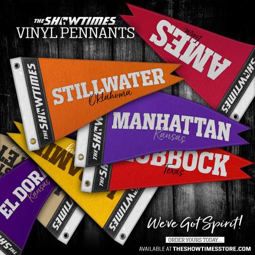 Vinyl Pennants