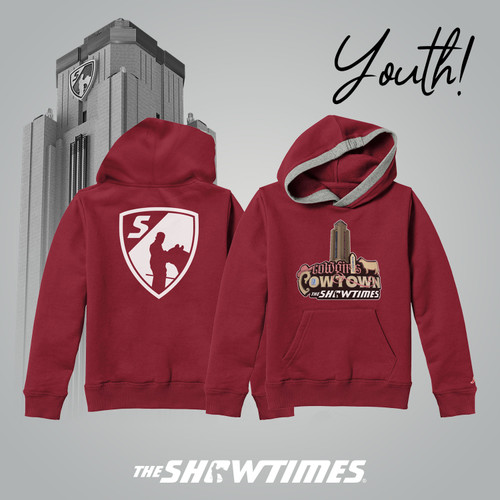 YOUTH - Cowgirls in Cowtown Hoodie