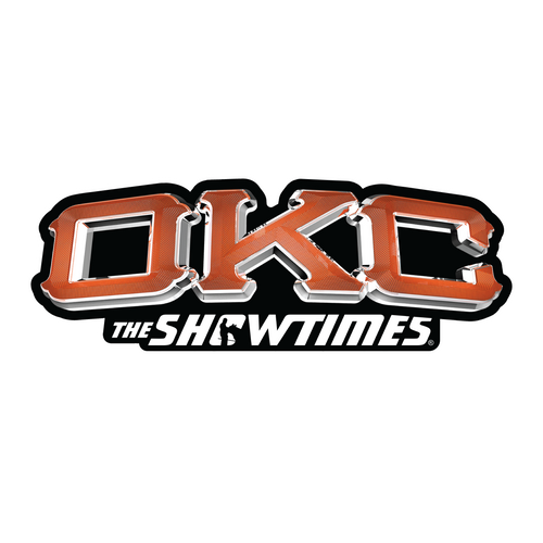 OKC Orange - Sticker