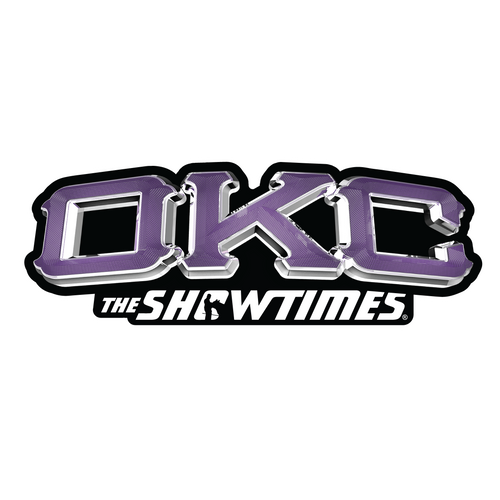 OKC Purple - Sticker