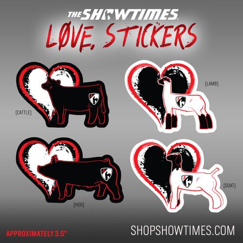 Love, Stickers