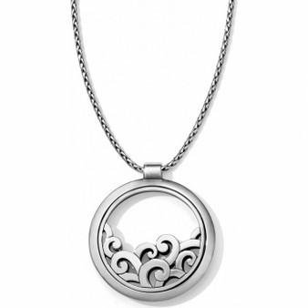Brighton Deco Lace Round Convertible Necklace