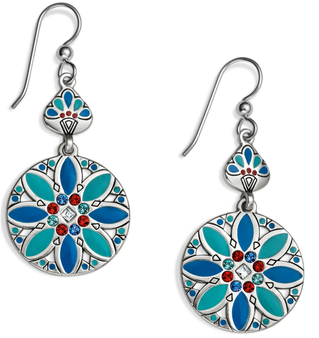 Brighton Africa Stories Multi French Wire Earrings