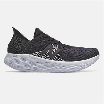 New Balance Women's Fresh Foam 1080v10 in Black with Outerspace