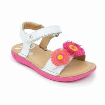 Stride Rite Toddler's srtech Monroe Sandal in White