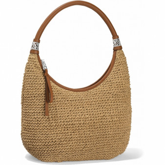 Brighton London Groove Shelby Straw Shoulderbag in Wheat-Luggage