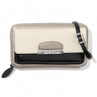 Brighton Cachet Organizer Wallet in Black