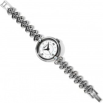 Brighton Alcazar Seville Watch in Silver