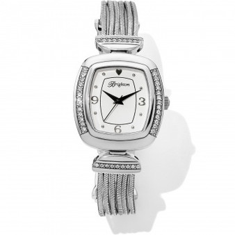 Brighton Auburn Watch in Silver