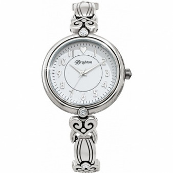 Brighton Alcazar La Palma Watch in Silver