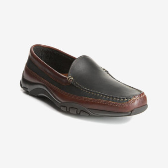 Allen Edmonds Men's Boulder in Black/Brown