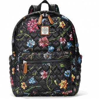 Brighton Kirby Carry-On Backpack in Wild Garden