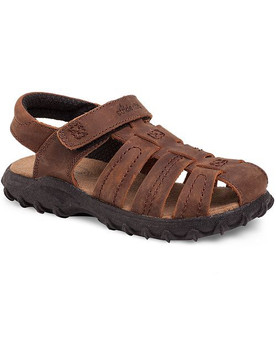 Stide Rite Children's Hudsen Sandal in Brown