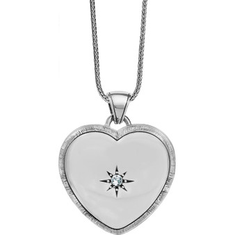 Brighton Brighton Morning Star Locket Necklace