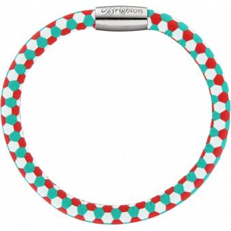 Brighton Woodstock Fashion Print Single Bracelet in Honeycomb