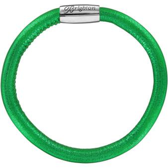 Brighton Woodstock Metallic Single Bracelet in Metallic Emerald