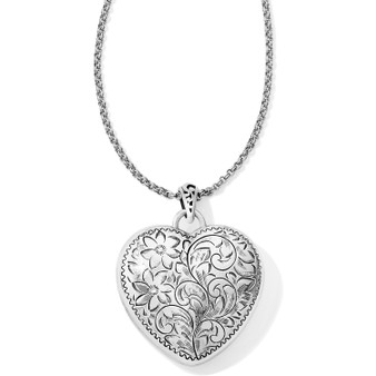 Brighton Timeless Heart Convertible Locket Necklace