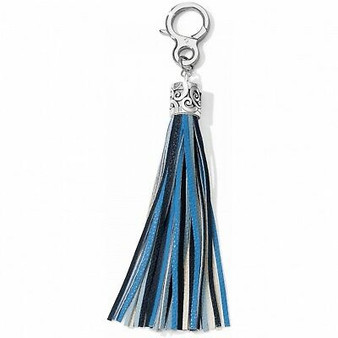 Brighton Boho Tassel Fob in Blue