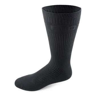 Two Feet Ahead Non-Binding Dress Sock in Black