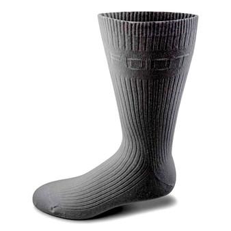 Two Feet Ahead Non-Binding Dress Sock in Charcoal
