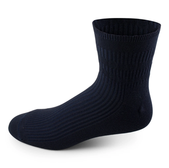 Two Feet Ahead Non-Binding Anklet Sock in Black