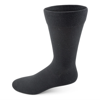 Two Feet Ahead Women's Cotton Dress Sock in Black