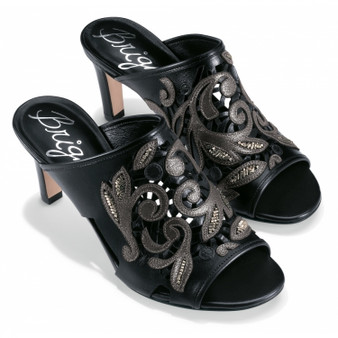 Brighton Women's Catch The Moon Revue Sandal in Black