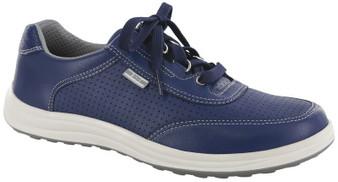 SAS Women's Sporty Lux Lace Up Sneaker in Blue