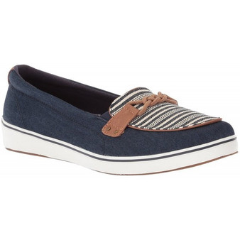 Grasshoppers Women's Windham in Denim/Stripe Navy