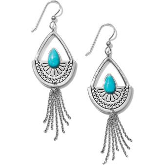 Brighton Marrakesh Mesa Tassel French Wire Earrings