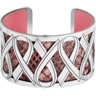 Brighton Christo Power Of Pink Cuff Bracelet