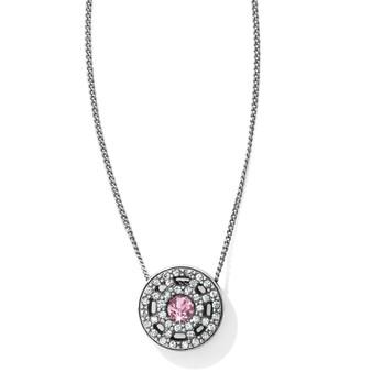 Brighton Illumina Petite Necklace in Pink