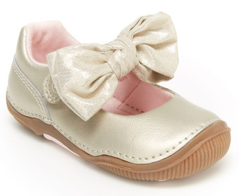 Stride Rite Toddler's SRTech Henley Mary Jane in Champagne