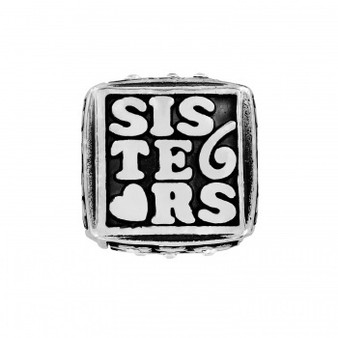 Brighton Sisters Forever Cube Bead